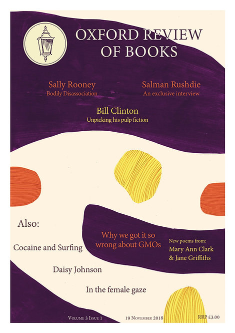 Oxford Review of Books Winter 2018