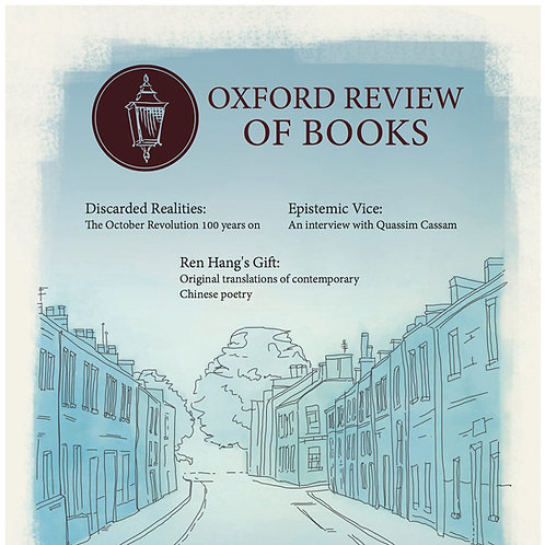 Oxford Review of Books Winter 2017