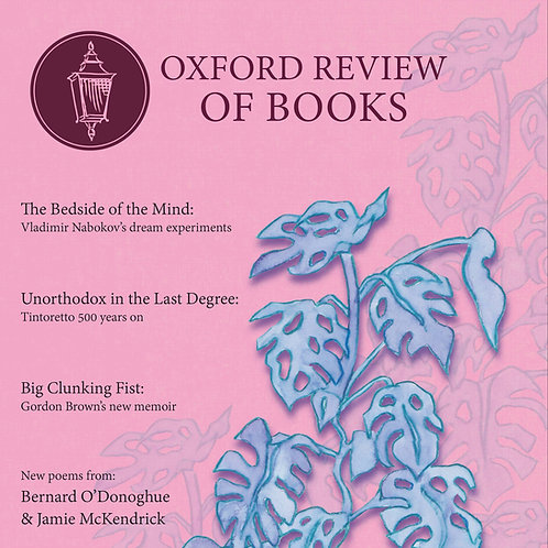 Oxford Review of Books Spring 2018