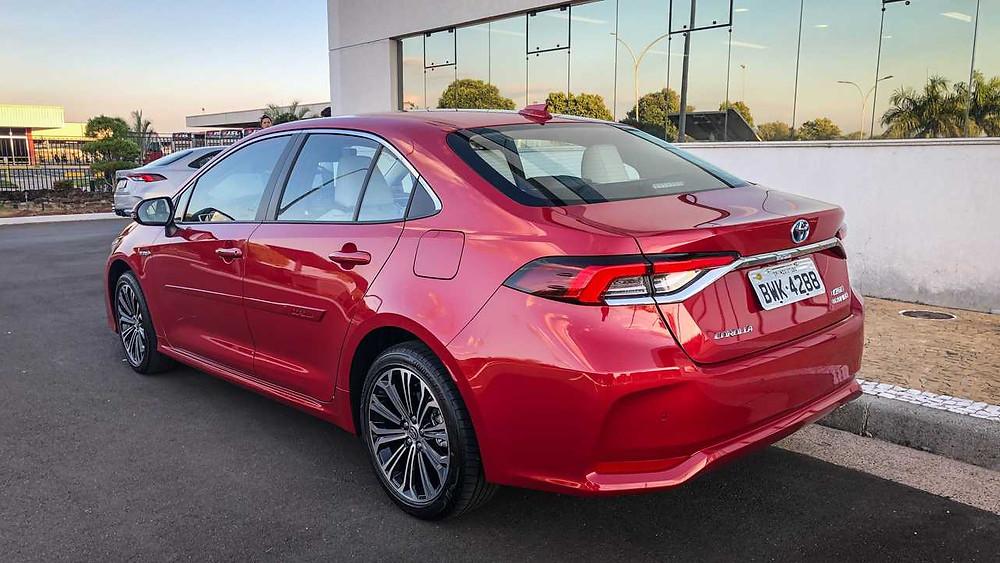 O novo Corolla atende as expectativas e deve continuar liderando as vendas no seu segmento