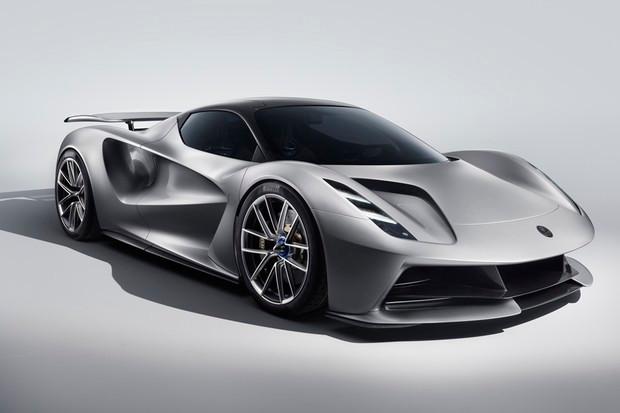 Lotus Evija tem quatro motores elétricos que entregam quase 2000 cv