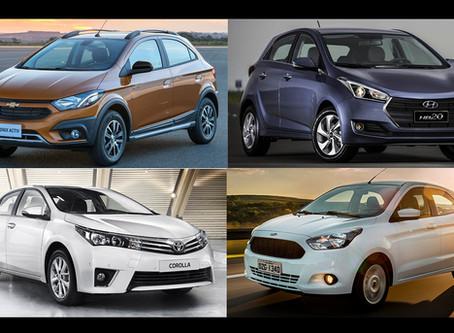 Veja quais foram os carros mais vendidos em abril