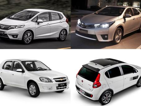 LISTA: 10 melhores carros semi-novos para comprar