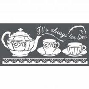 Pochoir Tea Time