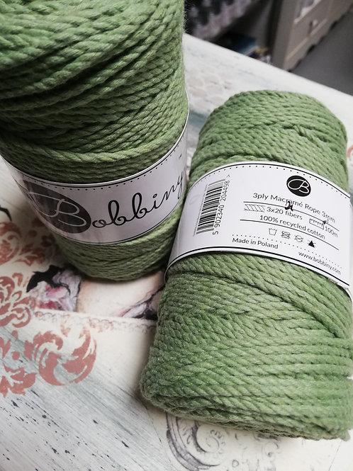 Coton macramé Eucalyptus3 plis