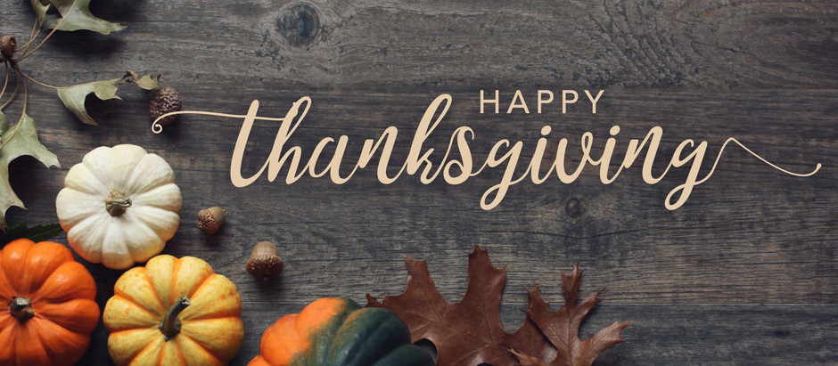 Grateful Words on the Eve of Thanksgiving