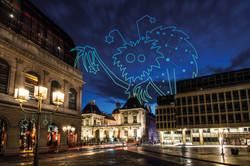 Lyon Secrets nocturnes accrocheur d'étoi