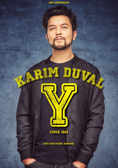 Affiche Y - Karim Duval