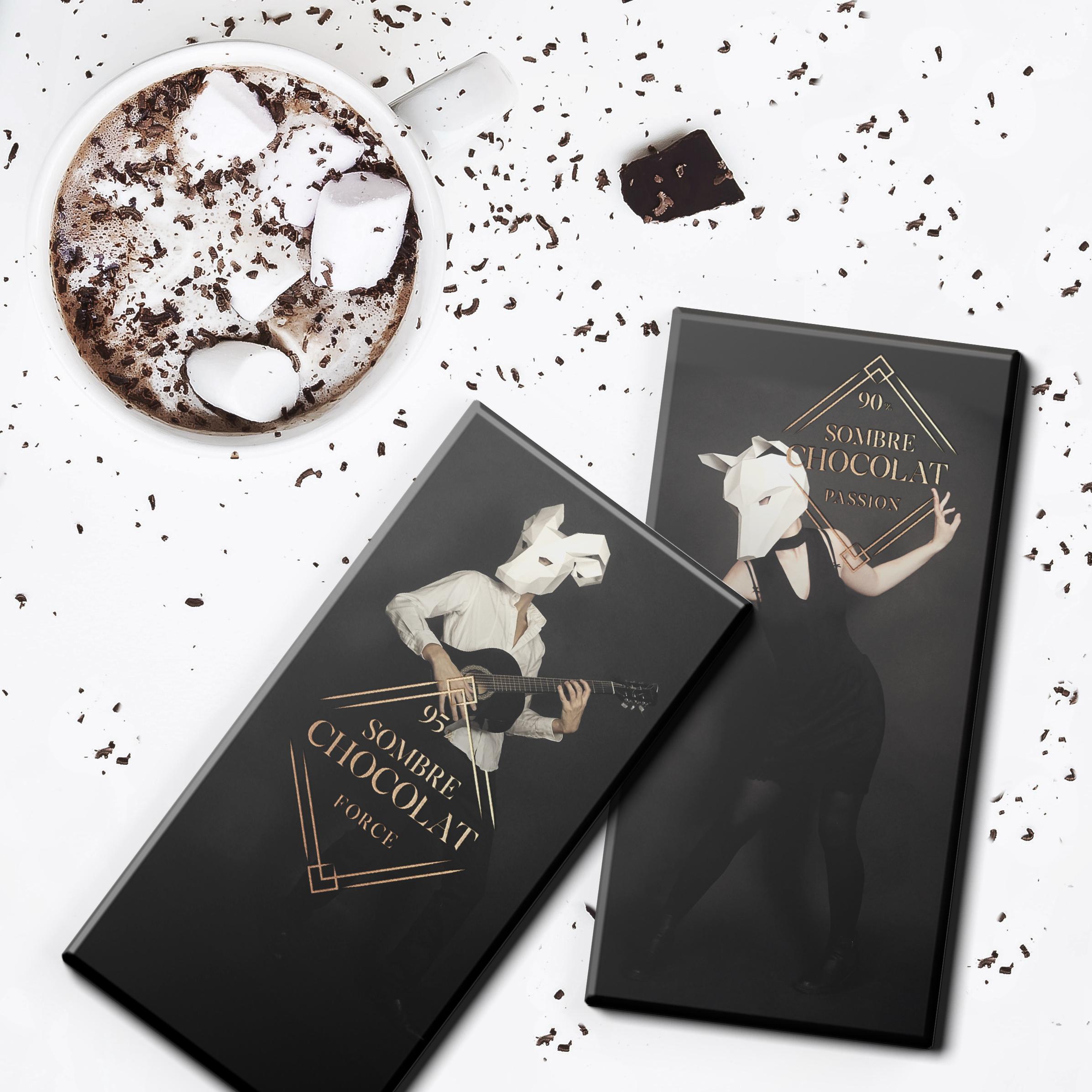 Sombre chocolat