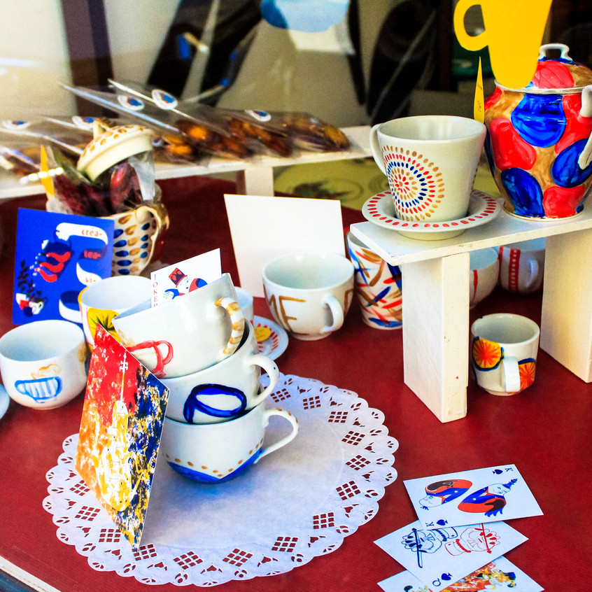 Cup of cards
