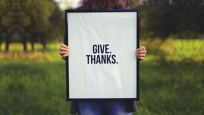 Give. Thanks.
