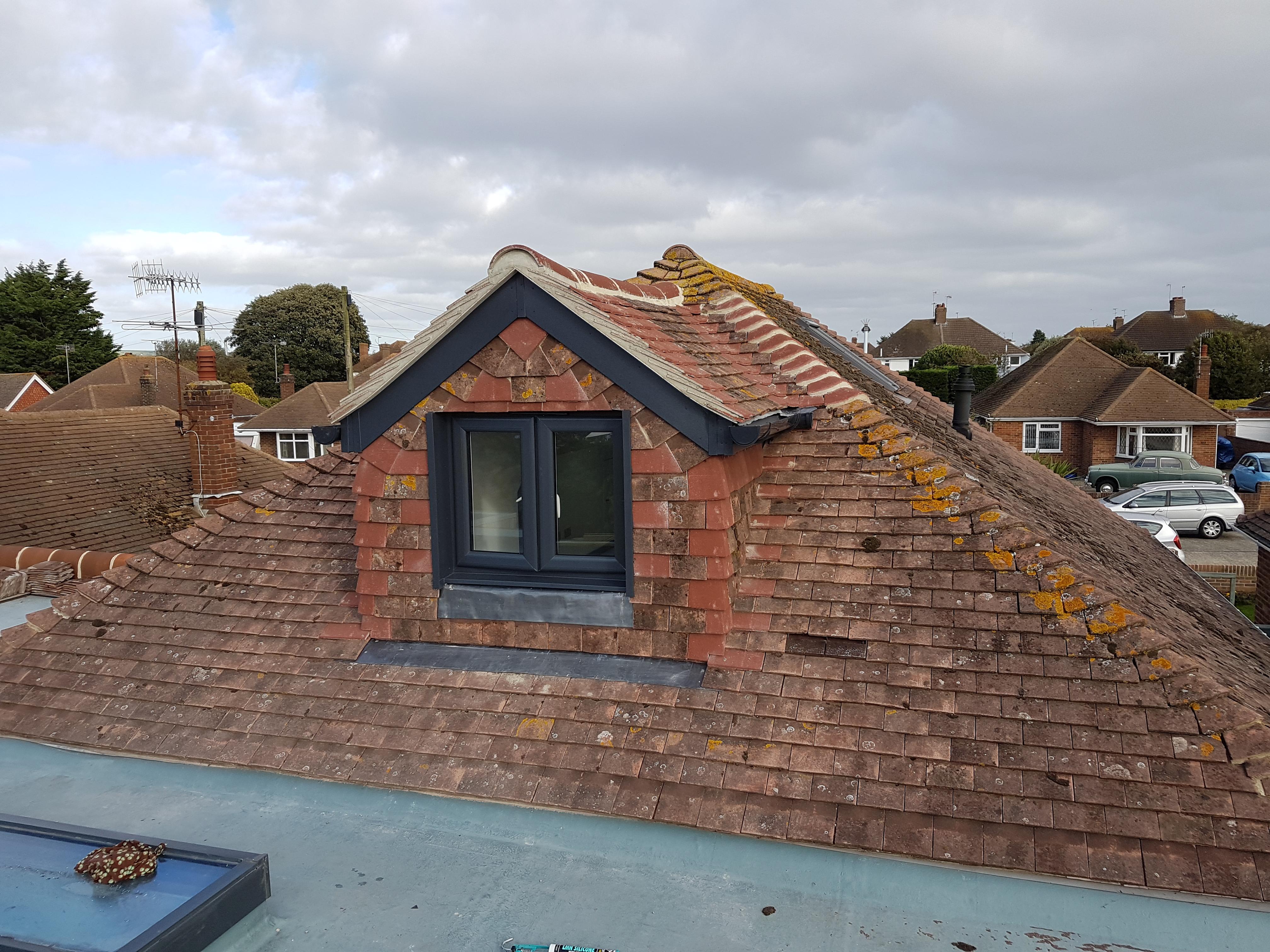 Dormer window, loft conversion