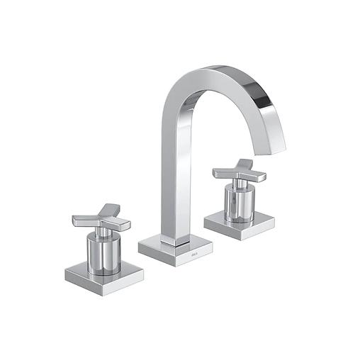 Misturador de mesa bica alta para lavatório Tre