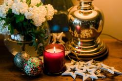 Handmade Christmas Soy Candle