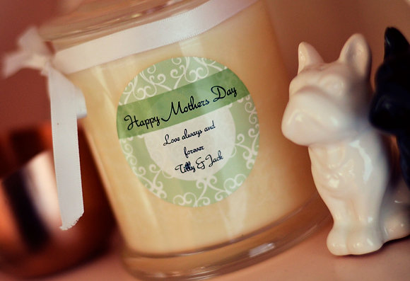 Medium Soy Candle (Custom)