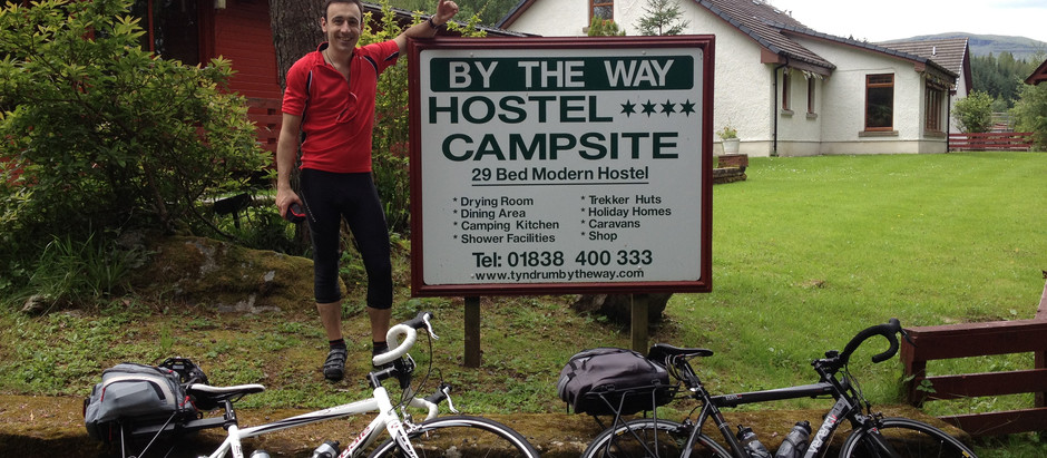 Epic Routes – Cycling the Scottish Hebrides:  Leaving Glasgow, leaving the mainland