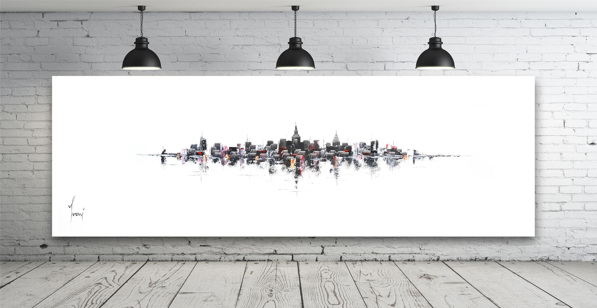 """""""NYC Skyline  - Classic"""""""