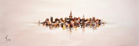 """""""NYC Skyline - Sand"""""""