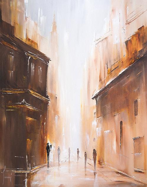 """John Street"" Fine Art Paper Print"