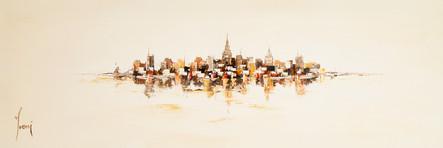 """NYC Skyline - Sienna"""