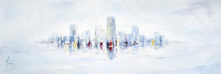 """""""NYC skyline - Blue Closer"""""""