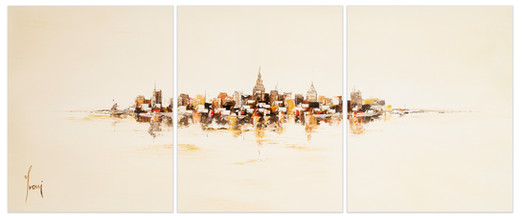 NYC Skyline - Sienna