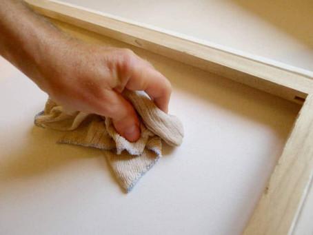 "How to tighten a ""saggy"" canvas"