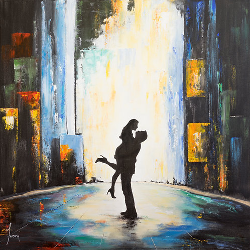 """On Stage""  Hand Painted Original"
