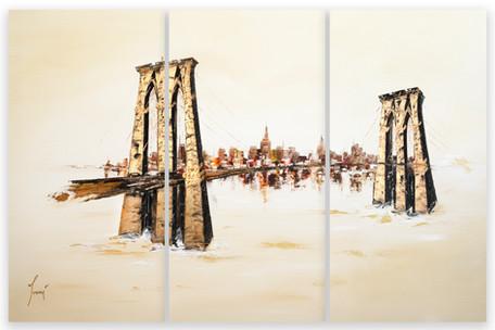 Brooklyn Bridge - Sienna