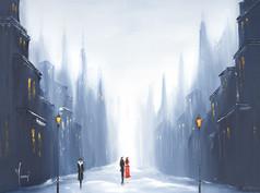"""Winter Walk"""