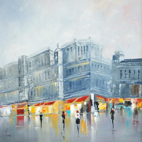 """Park Avenue"" Giclee Lithograph Canvas Print"