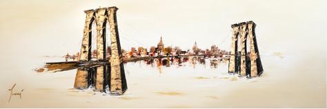 """Brooklyn Bridge - Sienna"""
