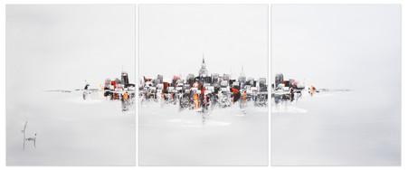 NYC Skyline - Grey