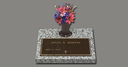Veteran Individual with Vase
