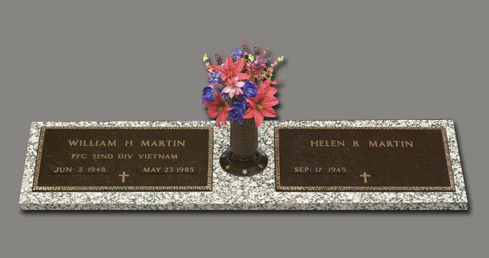 Veteran Companion with Vase