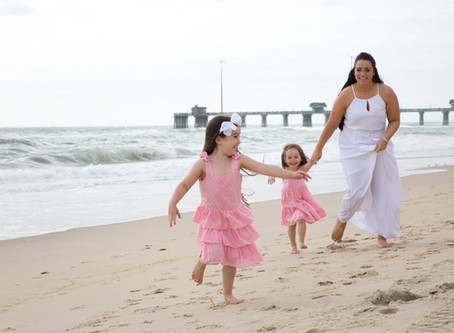 Mom's the Word! - Nags Head Beach Portraits