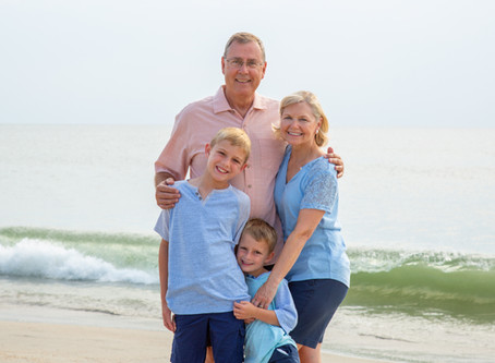 Corolla Beach Portraits | Returning Families  Part 1