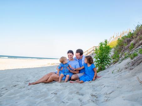 Corolla Beach Portraits | Returning Families Part 2