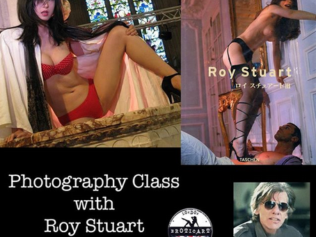 Roy Stuart @ Erotic Art Exhibition - London !