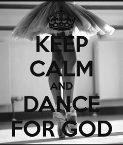 HE HOPES YOU DANCE!