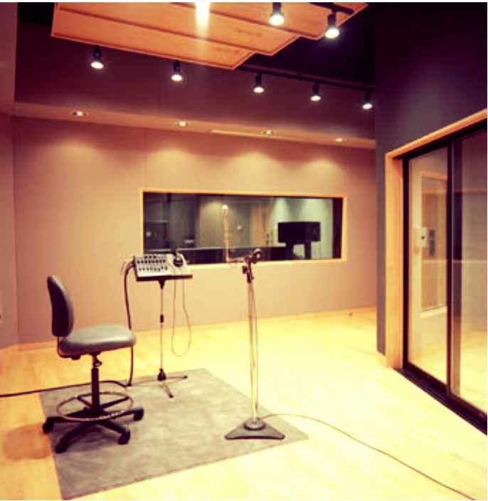 Studio A Tracking Room