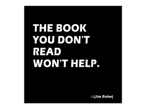 The book you don't read