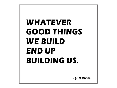 Build good things