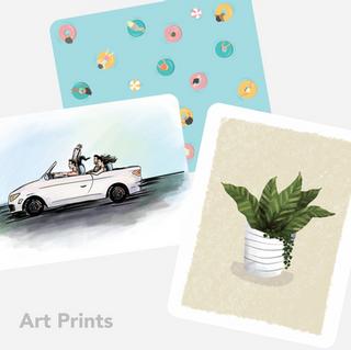 Art Print Illustrations