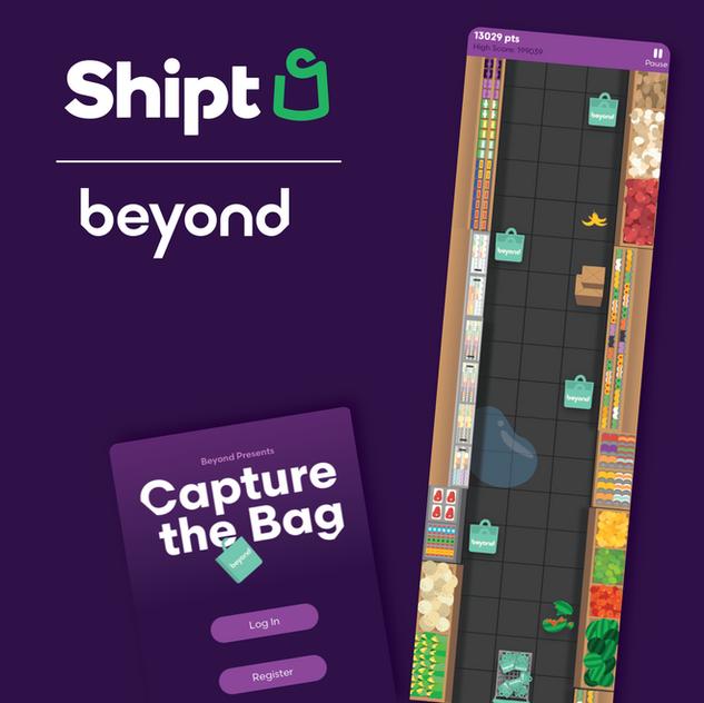 Capture the Bag App game design