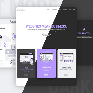 Chek Creative Website