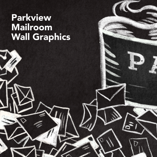 Parkview Mailroom Wall Graphics