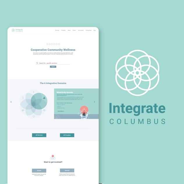 Integrate Columbus Website Design