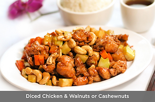 Diced Chicken & Walnuts or Cashewnuts.pn
