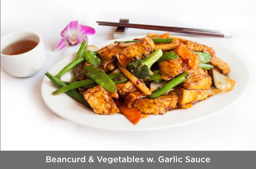 Beancurd & Vegetables w. Garlic Sauce.pn